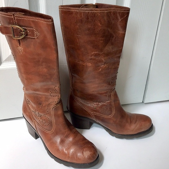 d8161a708be Ariat ATS Leather Riding Boots
